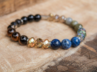 Be Kind - Tiger Eye Bracelet