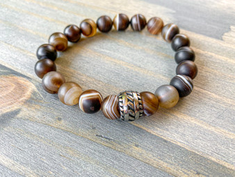 The One - Botswana Agate Bracelet