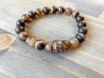 The One - Botswana Agate Bracelet