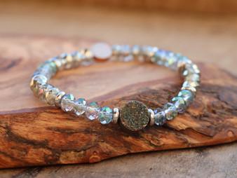 Have a Nice Day Druzy Bracelet