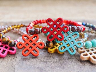Good Luck Charms  - Chinese Knot Bracelet