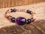 Good Vibes -  Amethyst Bracelet