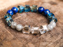 Fearless  Boss Lady - Lapis and Labradorite Bracelet