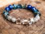 Fearless  Boss Lady - Lapis and Labradorite Bracelet
