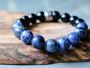 Luxe Black Onyx & Sodalite Bracelet