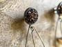 Antique Bronze Druzy & Crystals Chandelier Earrings