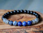 Adventurous - Sodalite & Black Onyx Bracelet