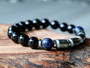 Millionaire Mindset - Pyrite, Sodalite & Onix Bracelet