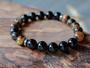 Modern - Tiger Eye & Black Onyx Bracelet
