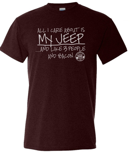 My Jeep and Bacon Tee