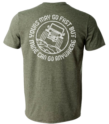 Go Anywhere Tee