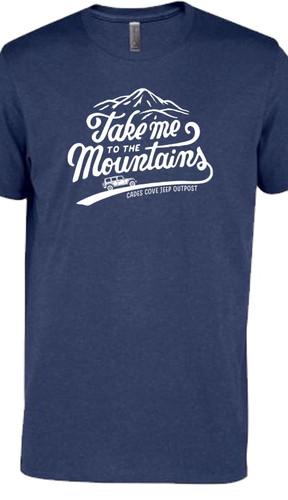 Take Me To The Mountains Tee