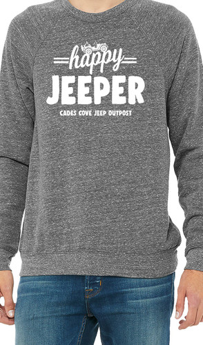 Happy Jeeper Crew Sweatshirt