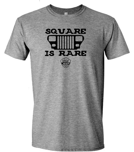 Square is Rare Tee