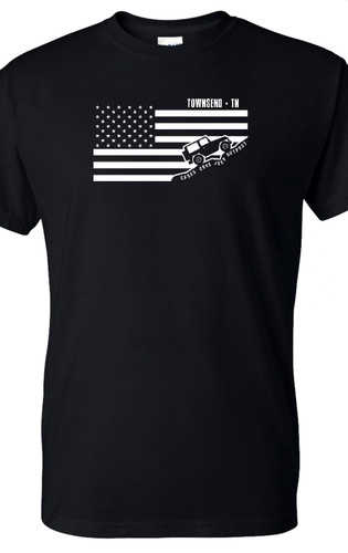 CCJO Flag Townsend TN YOUTH Tee