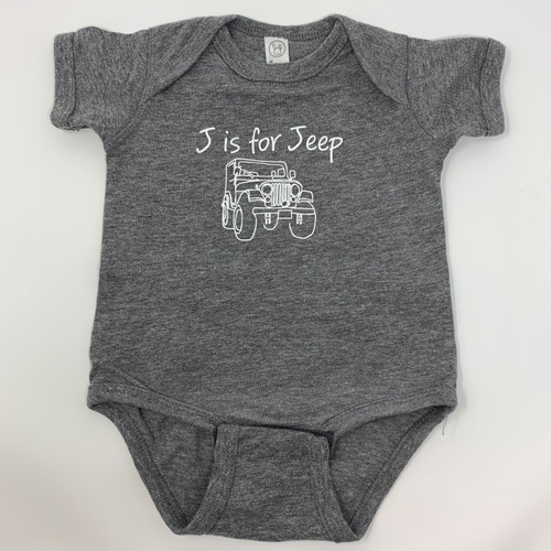 J is for Jeep Onesie