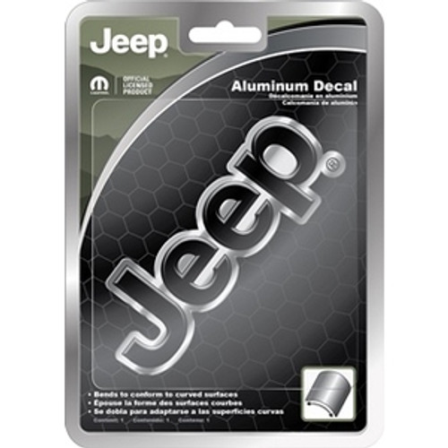 Jeep Aluminum Decal