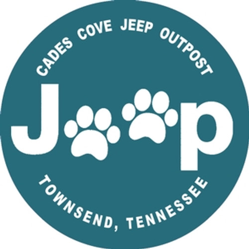 Jeep Paw Decal