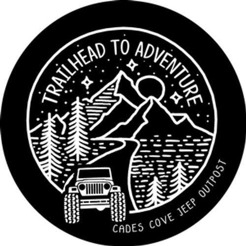 Trailhead to Adventure Decal