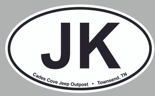 "3"" x 4"" Oval Decal"