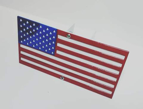 """American Flag Hitch Cover 2"""" Receiver"""