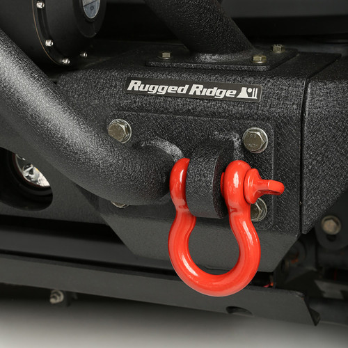 """3/4"""" D-Ring Shackle Red 9500 Lb"""