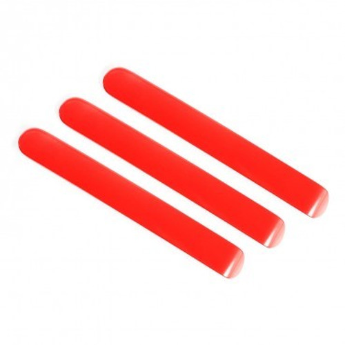Elite Door Handle Inserts Red 07-18 JK
