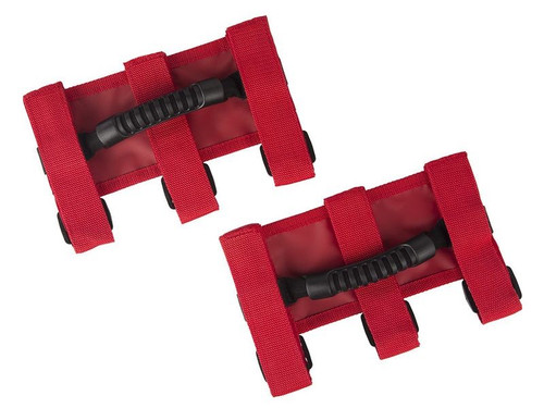 Ultimate Grab Handles Red 55-19 CJ/YJ/TJ/JK/JL