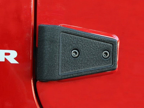 Door Hinge Cover KitTextured Black 07-18 JK