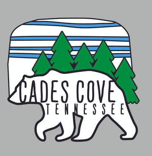 Cades Cove Bear Decal