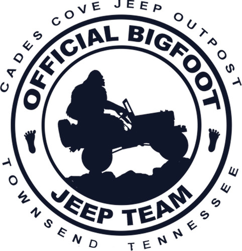 Official Bigfoot Jeep Team Decal