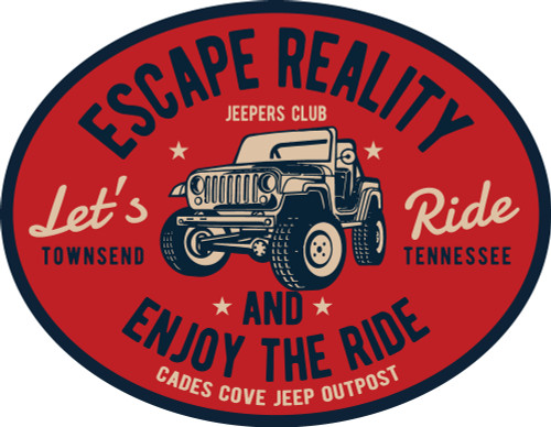 Escape Reality Decal