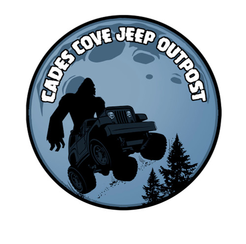 Bigfoot Moon Decal