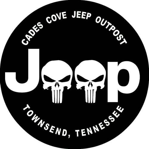 Jeep Skulls Decal