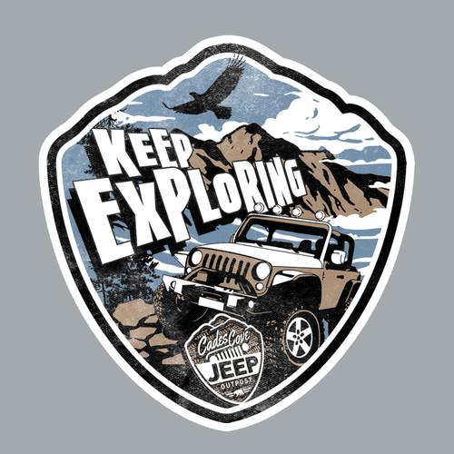 Keep Exploring Decal
