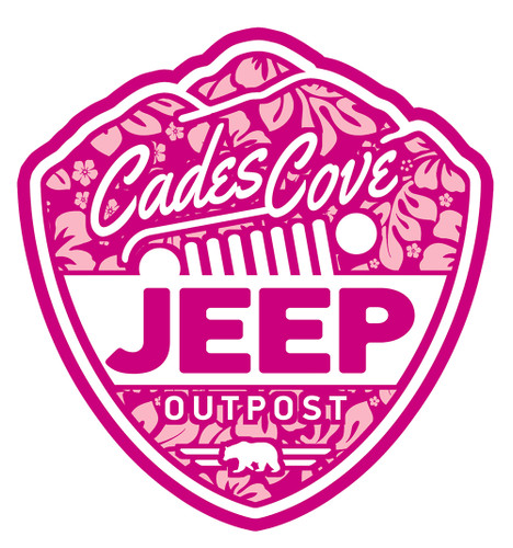 Pink CCJO Logo Decal