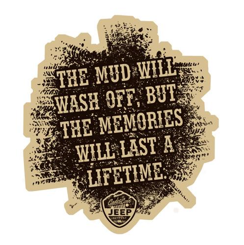 Mud Memories Decal
