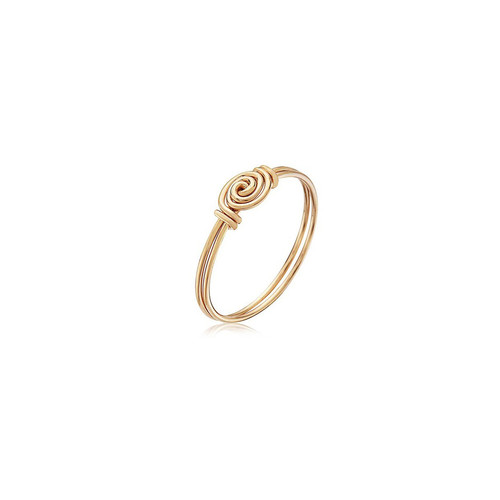 FRIENDS Ring - All 14K Gold Artist Wire