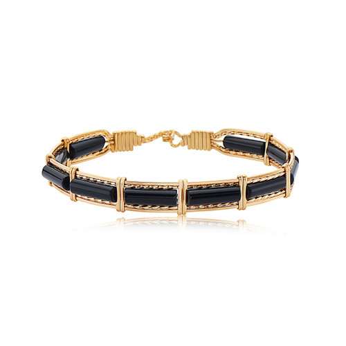 Color Your World Bracelet - Black Onyx