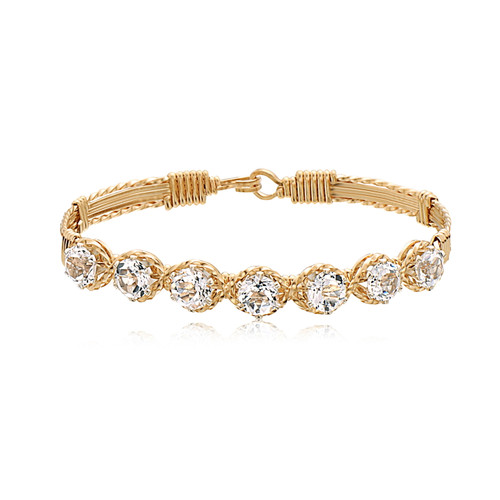 Dawn Bracelet - 14K Gold Artist Wire