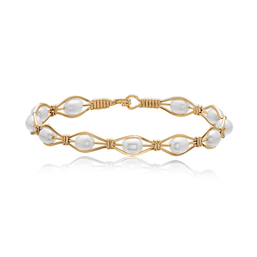 Romance Bracelet - 14K Gold Artist Wire