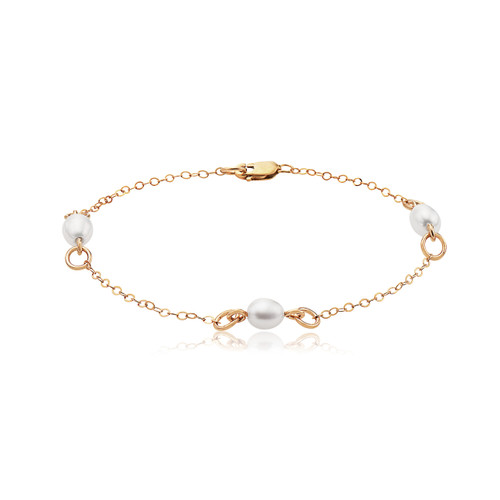 Bliss Bracelet - 14K Gold Artist Wire