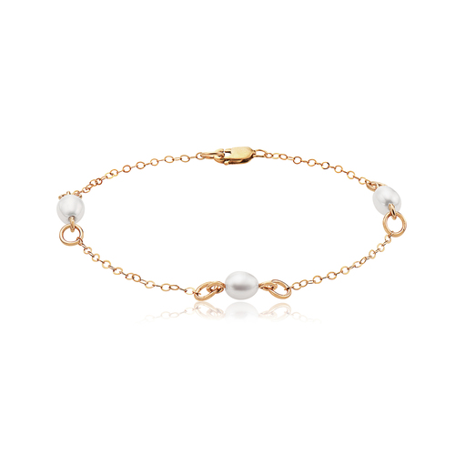 Bliss Bracelet - 14K Gold Artist Wire