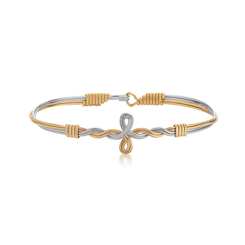 Winding Paths - 14K Gold Artist Wire and Silver with 14K Gold Artist Wire Wraps
