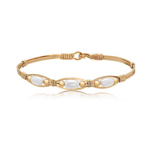 Bella Bracelet - 14K Gold Artist Wire