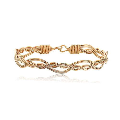 Celtic Knot Bracelet - All 14K Gold Artist Wire