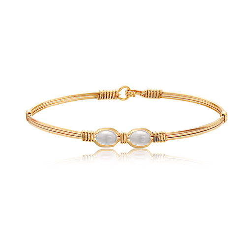 Faith Bracelet - All 14K Gold Artist Wire
