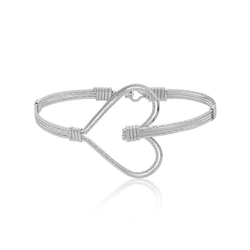 Heart of My Heart Bracelet -  All Sterling Silver