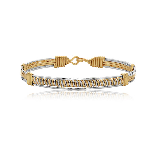 Magic Moments Bracelet - 14K Gold Artist Wire and Sterling Silver