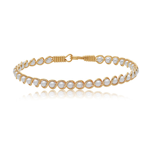 Revive Bracelet - 14K Gold Artist Wire